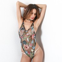 Zemalia Abela Leaf and Flower Floral Teddy