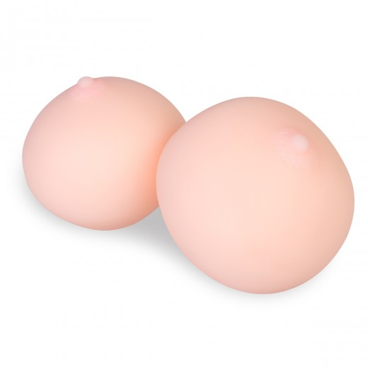 Realistic Boob Boobies Set Hand Stress Relief Breast Ball Men Sex Toy