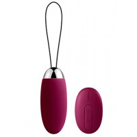 SVAKOM Elva Remote Control Vibrating Bullet Waterproof Powerful G-spot Vibration For Couple