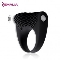 ZEMALIA Armour Cock Ring Vibrating Penis Ring For Couple